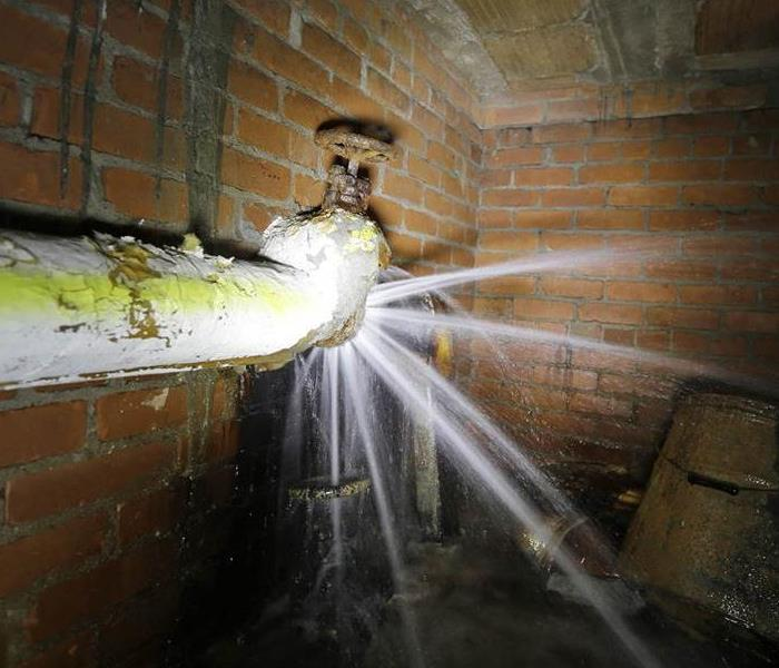 Water Damage Do you know where your water shut off is?
